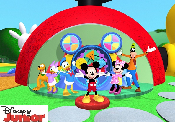 PLUTO, DAISY DUCK, DONALD DUCK, MICKEY MOUSE, MINNIE MOUSE, GOOFY