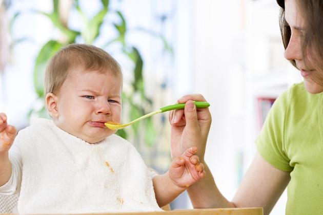 bebe care nu mananca
