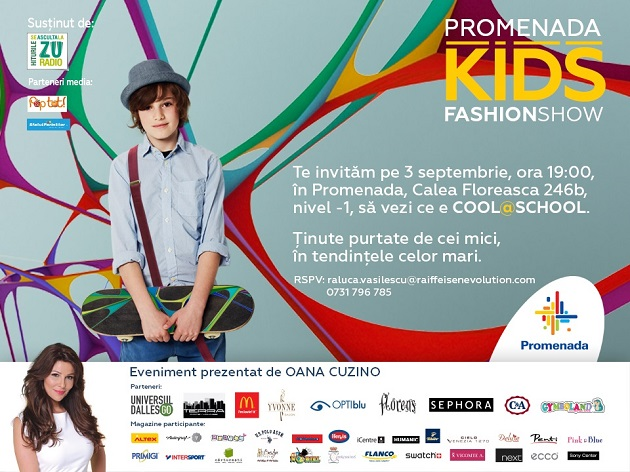 Invitatie Kids Fashion Show