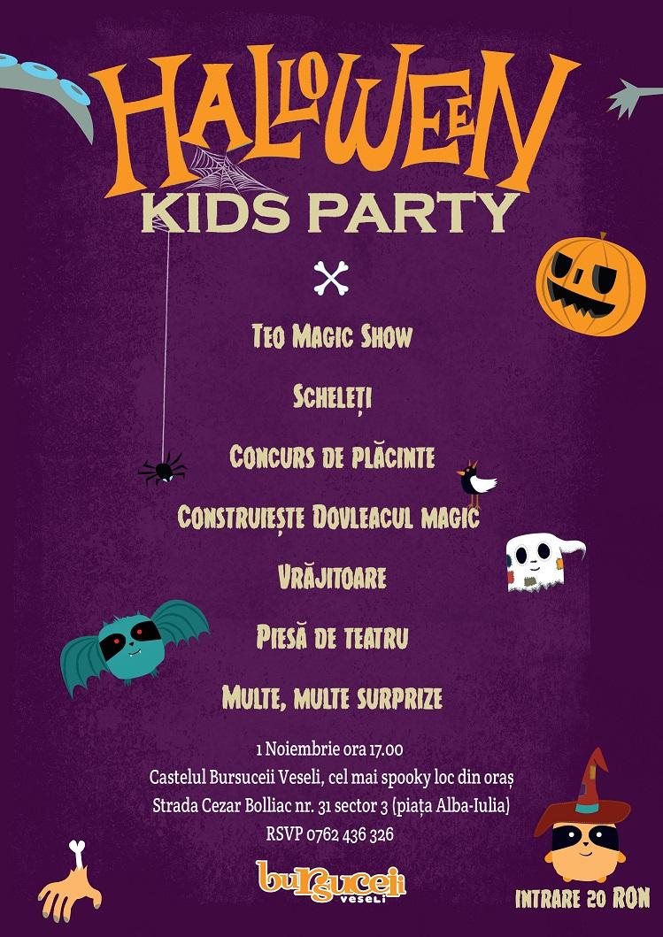 Poster Halloween Web Bursucei
