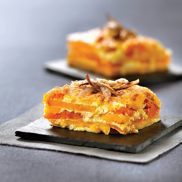 Pumpkin and sweet potato bake