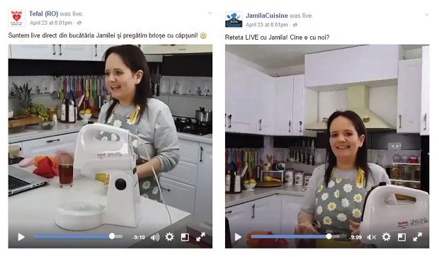 live cooking Jamila Tefal