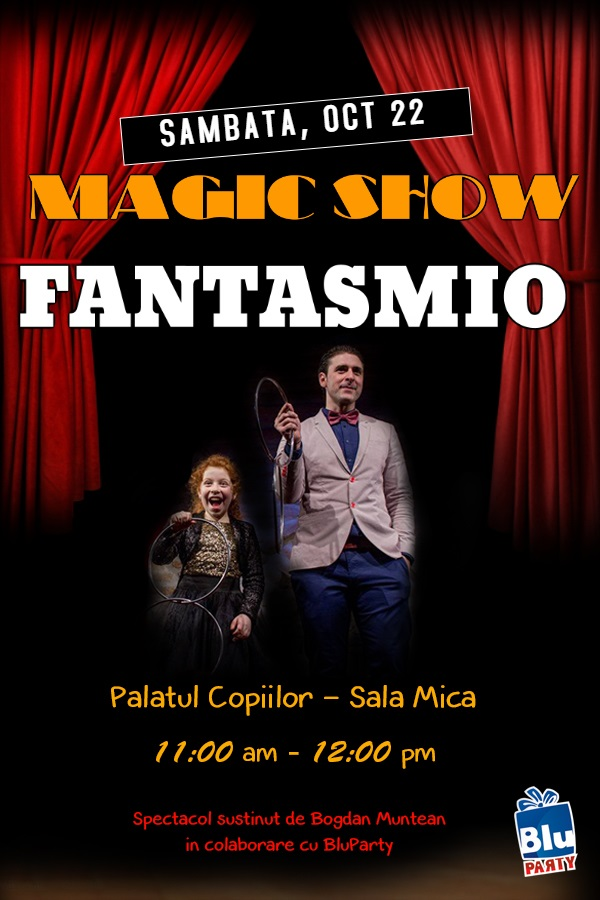 Magic Show Fantasmio - poster